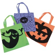Halloween Tote Bag Pack (pack of 12)
