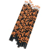 Halloween Printed Pencils (pack of 12)