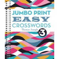 Jumbo Print Easy Crosswords Book 3