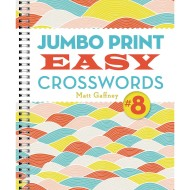 Jumbo Print Easy Crosswords Book 8