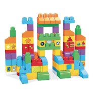 Mega Bloks® Let's Get Learning Building Block Set (set of 150)