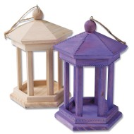 GAZEBO BIRD FEEDER PK6
