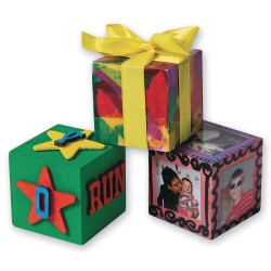 craft cubes wooden