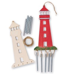 lighthouse windchime craft