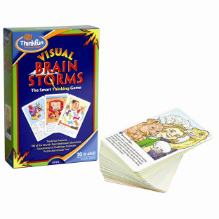 VISUAL BRAIN STORMS PUZZLE CARDS