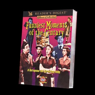 FUNNIEST MOMENTS OF THE CENTURY DVD SET