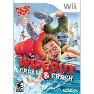 WII WIPEOUT CRASH AND CREATE