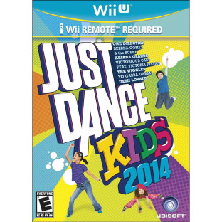 WII U JUST DANCE FOR KIDS 2014