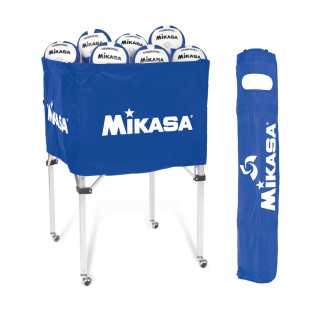 Mikasa® Volleyball Cart, Royal