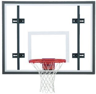Side Court Glass Backboard