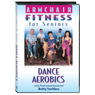 ARMCHAIR FITNESS DANCE AEROBICS  DVD