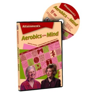 AEROBICS OF THE MIND BOOK WITH DVD
