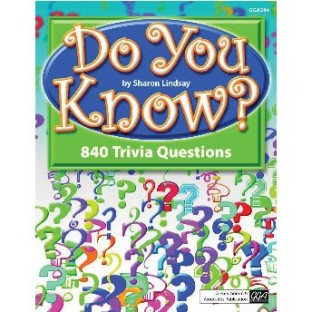 DO YOU KNOW TRIVIA BOOK