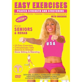 EASY EXERCISES WITH SUNSHINE DVD STRENGTH