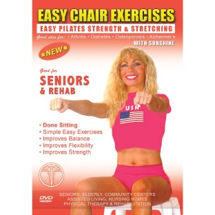 EASY CHAIR EXERCISES WITH SUNSHINE PILATES DVD