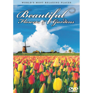BEAUTIFUL FLOWERS AND GARDENS DVD