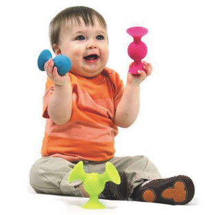 PIPSQUIGZ SENSORY SUCTION TOY SET OF 3