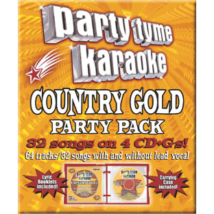 Party Tyme CD+G Country Gold Party Pack