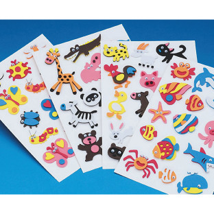 3D Foam Sticker Mega Pack