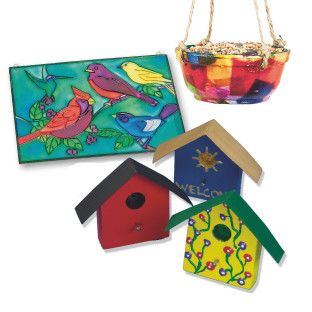 BEAUTIFUL BIRD CRAFT EASY PACK PK72