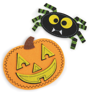 Halloween Buddies Craft Kit