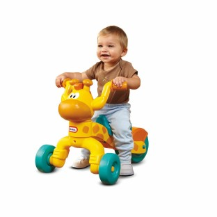 GO N GROW ROLLING GIRAFFE RIDE ON