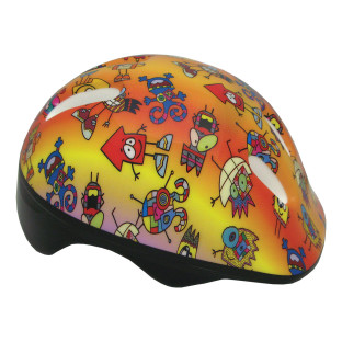 TODDLER BIKE HELMET CRAZY CREATURES