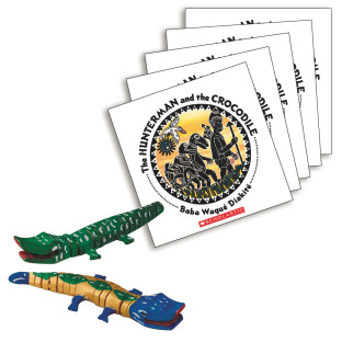 LITERACY FUN PACK THE HUNTERMAN AND THE CROCODILE