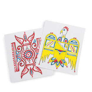 Southwestern Sand Painting Craft Kit