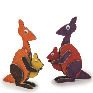 Kangaroo and Joey Too Craft Kit