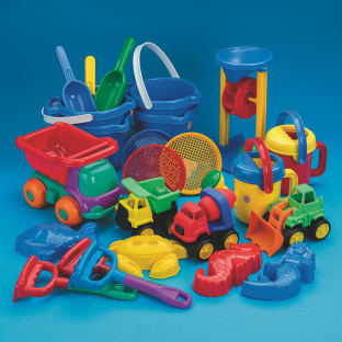SAND PLAY SET EASY PACK