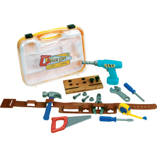 Pretend & Play Workbelt Tool Set