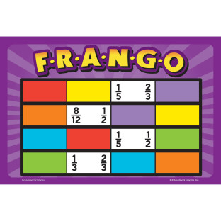 Frango Equivalent Fractions Game