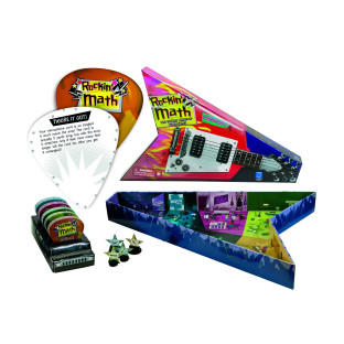 ROCKIN MATH BOARD GAME