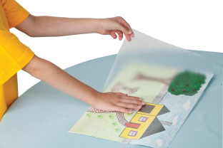 Con-Tact® Clear Covering Paper