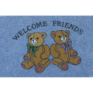 MAT DECORATIVE WELCOME BEARS