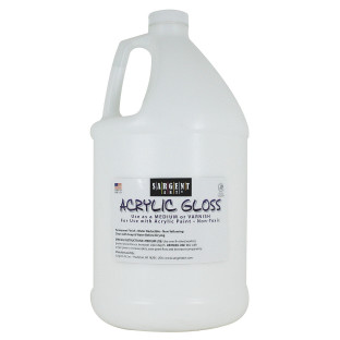 Acrylic Gloss Varnish, Gallon