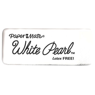 White Pearl Latex-Free Eraser