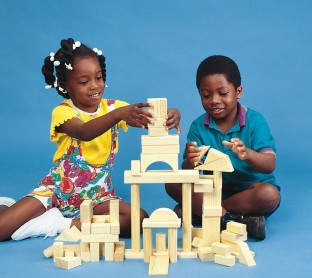 WOODEN BLOCKS SET 60 PCS.