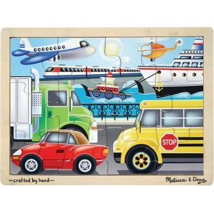 PUZZLE WOOD ON THE GO JIGSAW 12 PC