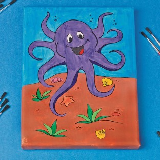 OCTOPUS PAINTING KIT PK/12