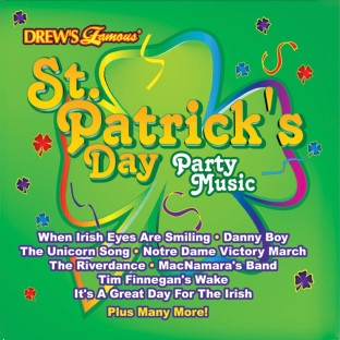 DREWS FAMOUS ST PATS PARTY MUSIC
