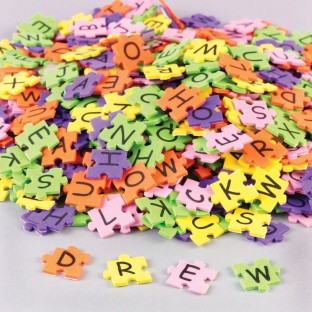 FOAM PUZZLE ALPHABET PIECES