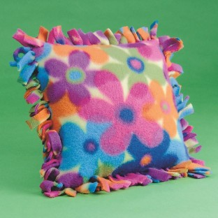 FLEECE PILLOW KIT PK/6