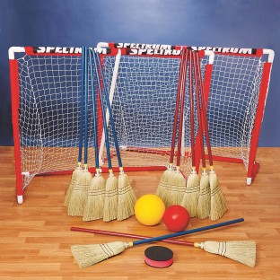 BROOMBALL SET WITH GOAL