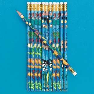 SEALIFE PENCILS PK144