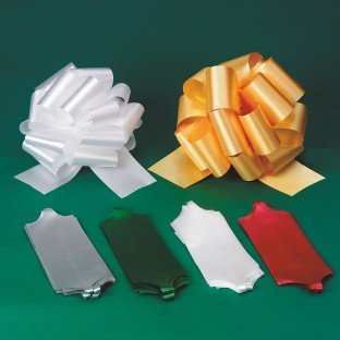 HOLIDAY PULLBOWS ASSORTED PK10