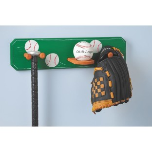 WOODEN BASEBALL RACK
