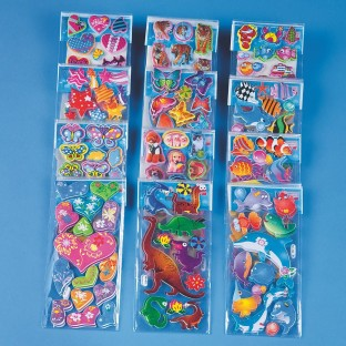 PUFFY STICKERS PK/24