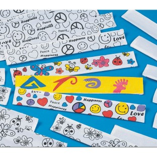 COLOR ME SLAP BRACELETS PK/48